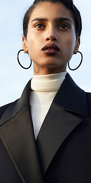 celine-black-hoop-earrings